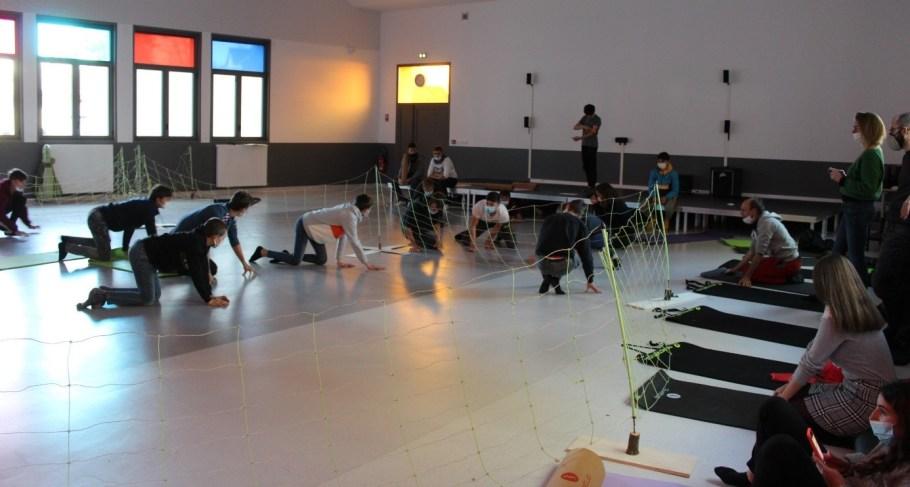 intervention artistique au lycée henri queuille de neuvic
