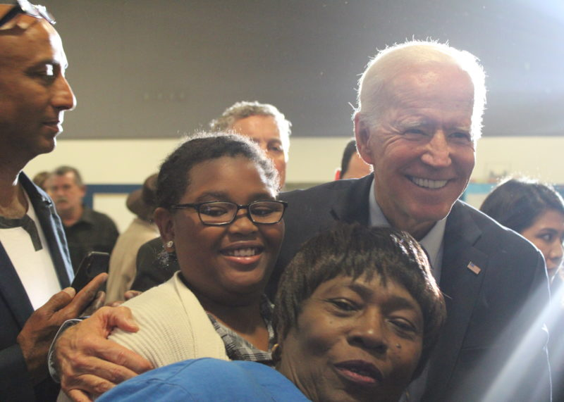 """In West Las Vegas, Joe Biden Talks Up """"Possibilities"""" And Redefines His Candidacy As Something Bigger"""