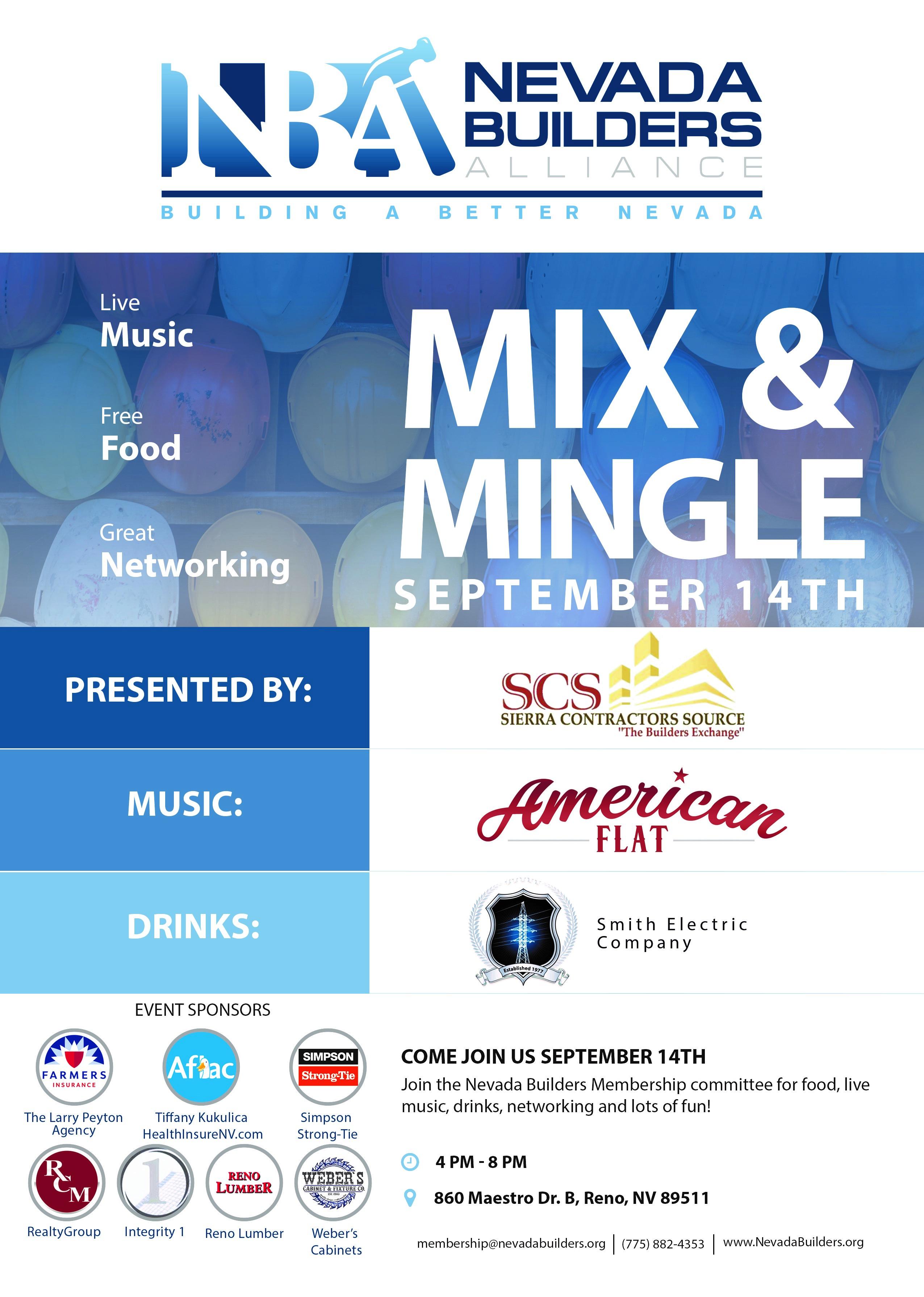 SCS Mix and mingle