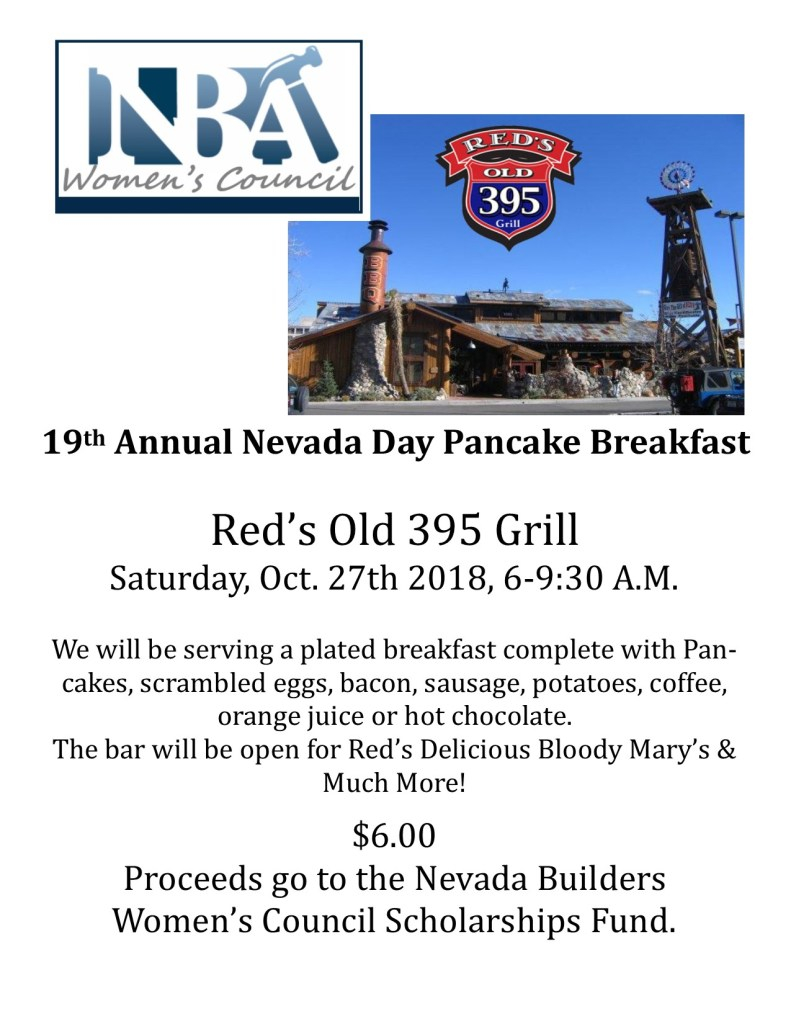 Pancake Breakfast flyer 2018
