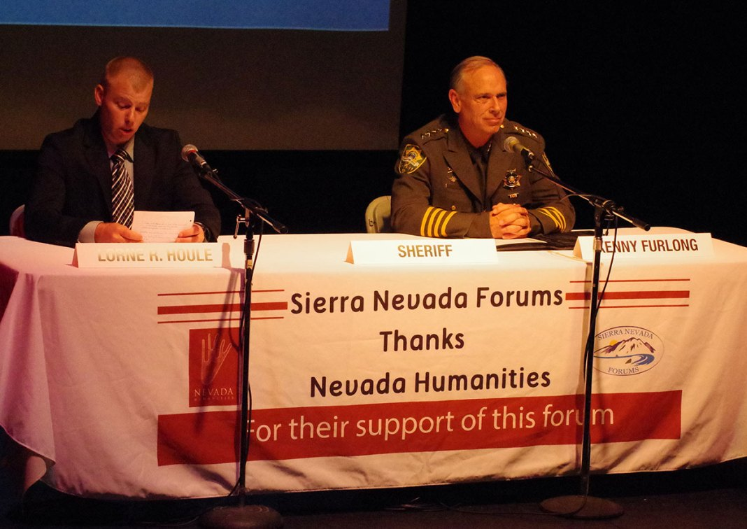 Lorne Houle and Carson City Sheriff Kenny Furlong - image - Nevada Capital News.