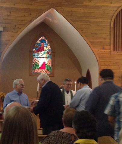 Moderator Communion