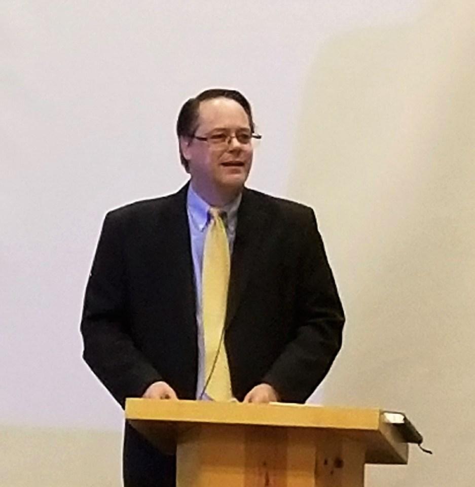 Rev. Jim Houston-Hencken Preaches at Presbytery