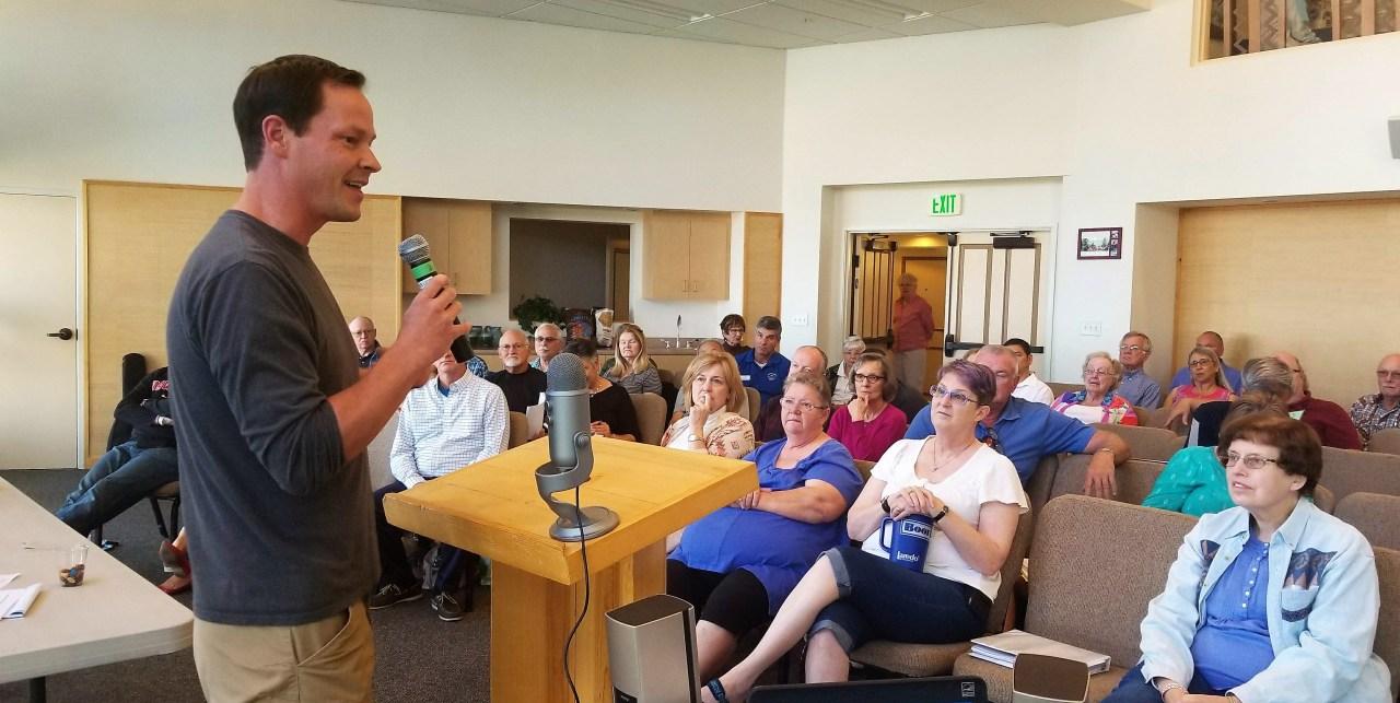 Ryan McKenzie Welcomes Presbytery