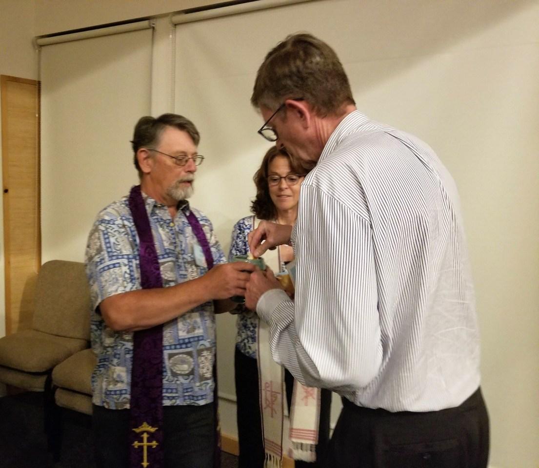 Presbytery Shares Communion