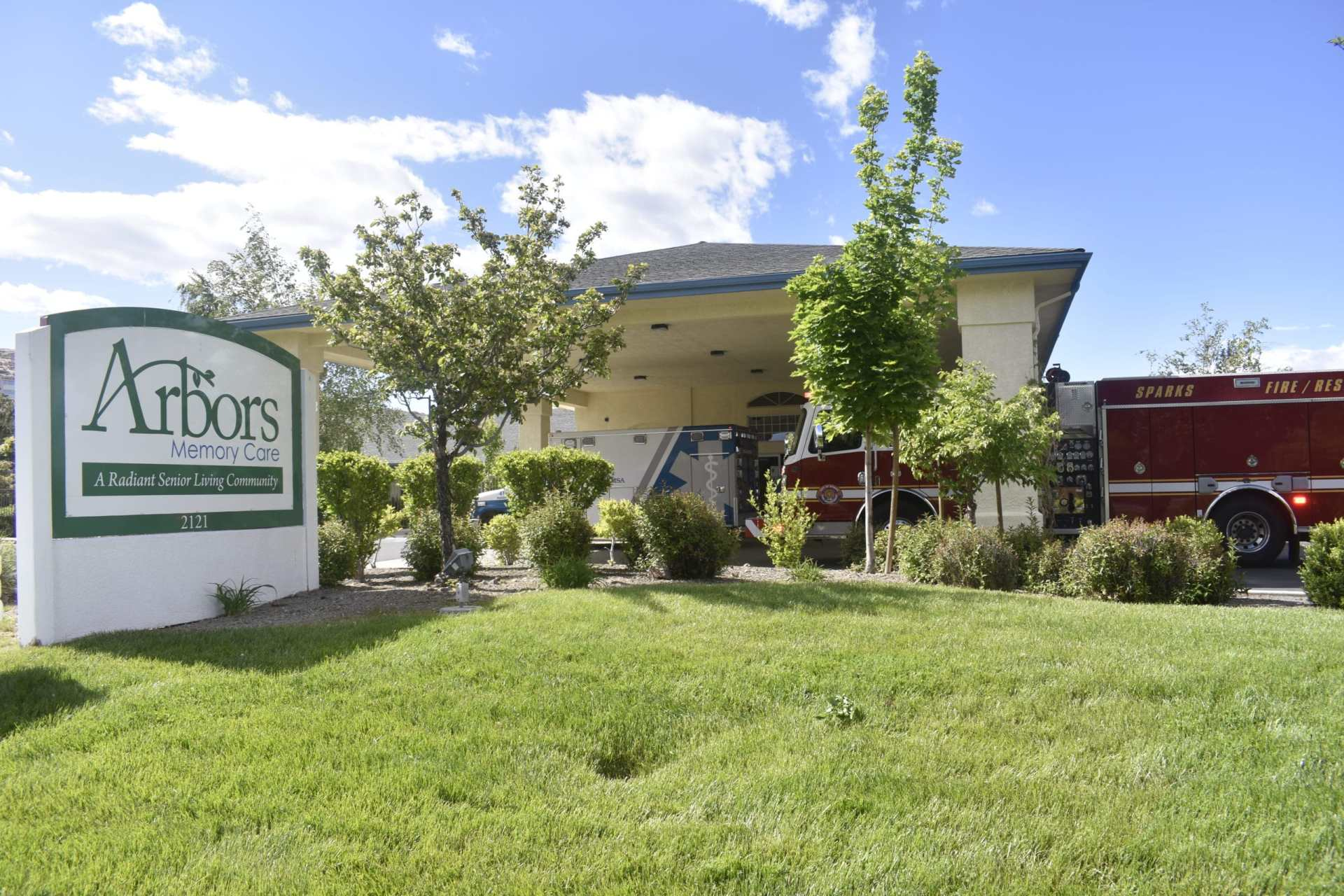 Arbors Memory Care facility in Sparks, Nev.