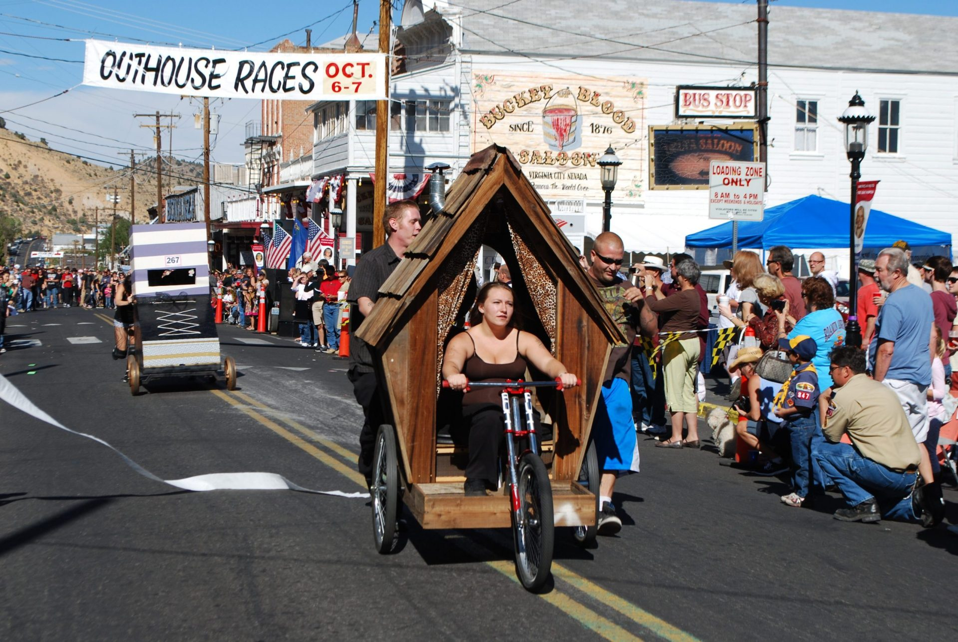 Virginia City Outhouse Races