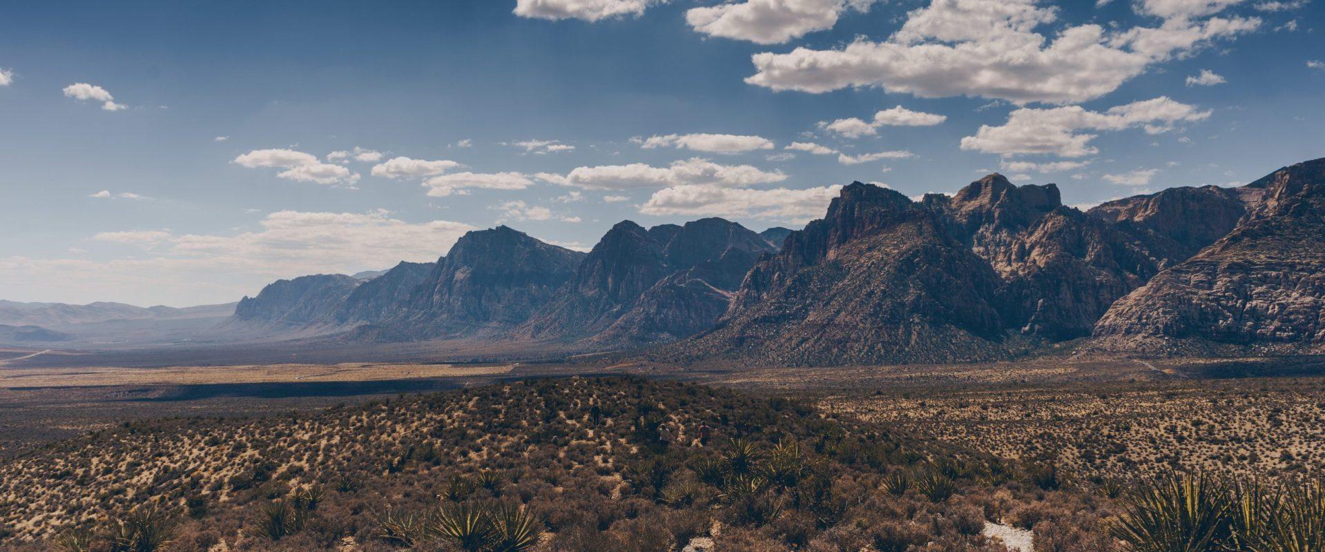 Red Rock Canyon near Las Vegas.