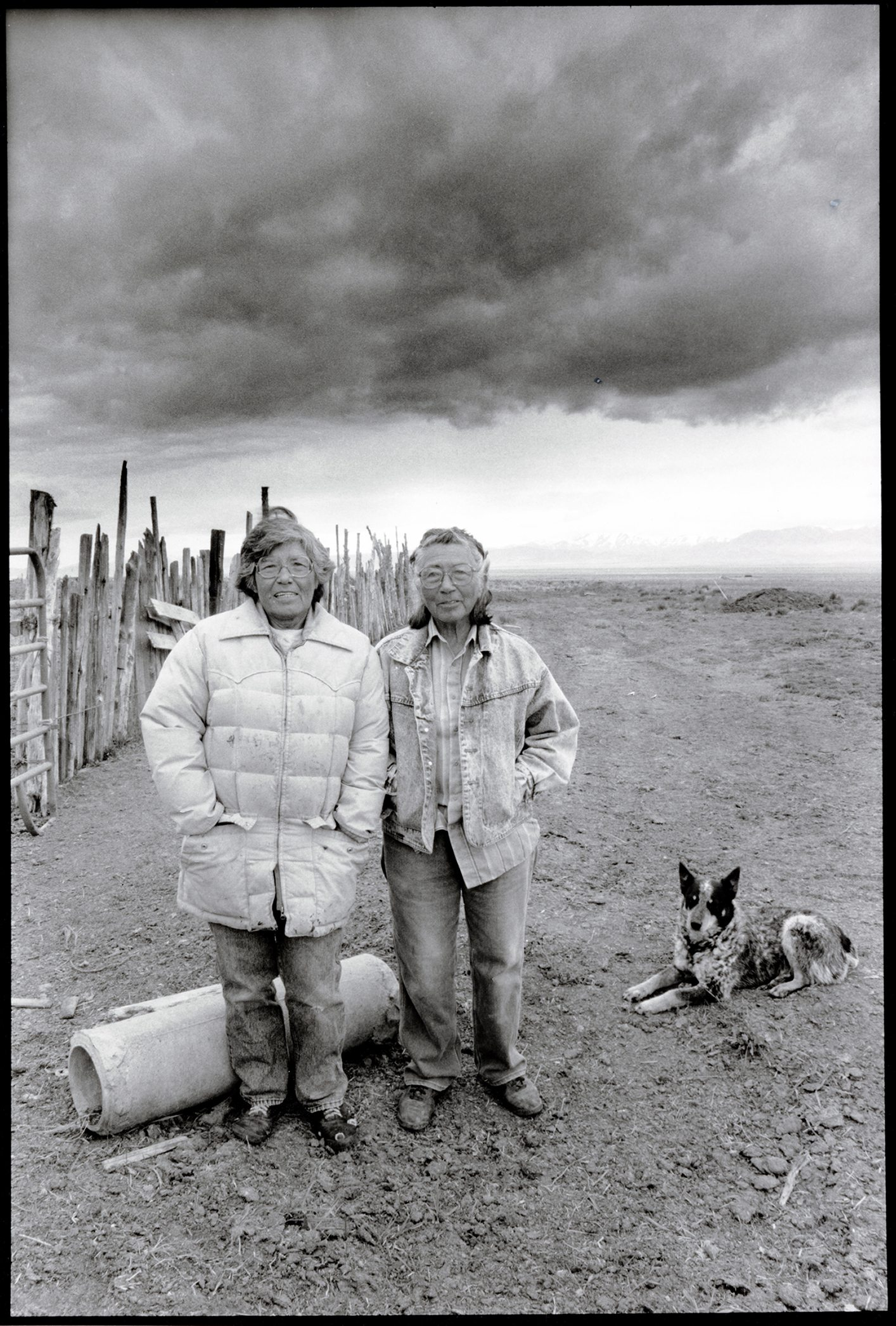 Ranchers and activists Carrie (left) and Mary Dann fought for Western Shoshone land rights for 50 years. Photo provided by Special Collections & University Archives at UNR.