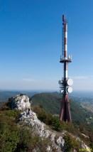 Tv toranj na vrhu