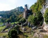 Ruševine i pogled na Vranilac
