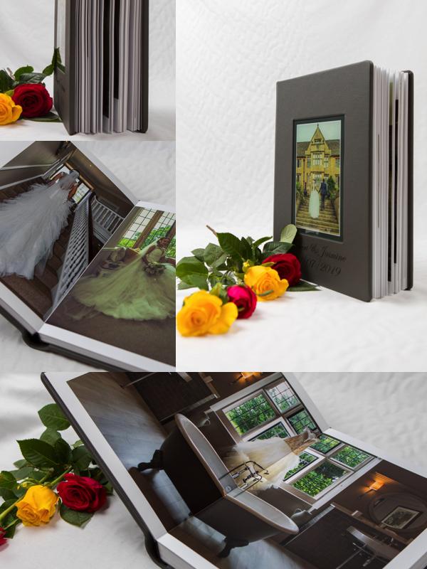 wedding album - Scarborough wedding photographs - Story Book