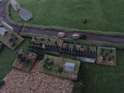 Union troops try to rally...