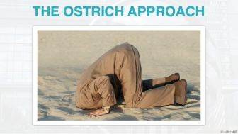 The Ostrich Approach - NeveraCaseOfTheMondays dot com