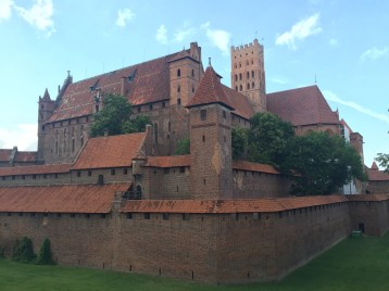 The very photogenic Malbork castle