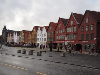 The iconic waterfront of Bryggen.