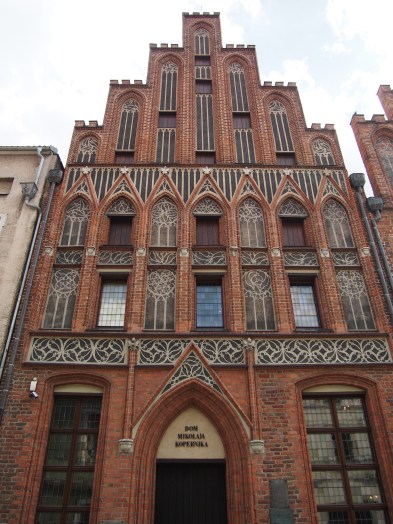 The birth house of Copernicus