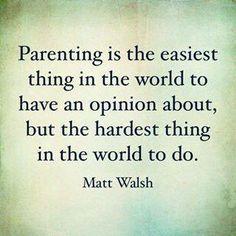 Parenting Is | neveralonemom.com