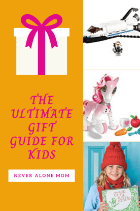 The ultimate gift guide for kids! |neveralonemom.com