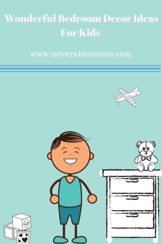 bedroom decor ideas for kids   neveralonemom.com