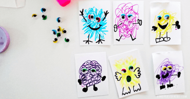 Kids art project |neveralonemom.com
