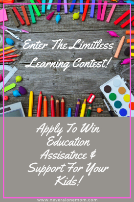Learning contest for your kids education! |neveralonemom.com