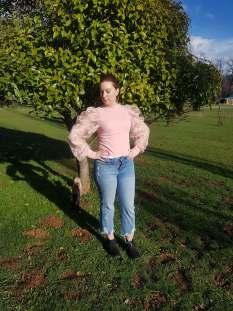 Femme Luxe Pink Mesh Top |http://femmeluxefinery.co.uk/