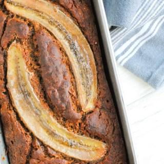 healthy whole wheat banana bread