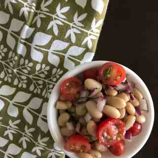White Bean Salad with Tomato and Dill