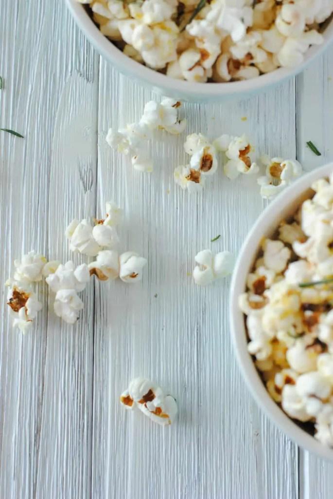 rosemary olive oil popcorn