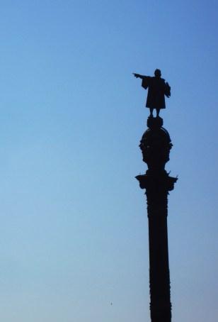 Monument a Colom - Monumento a Colón - Columbus Monument.