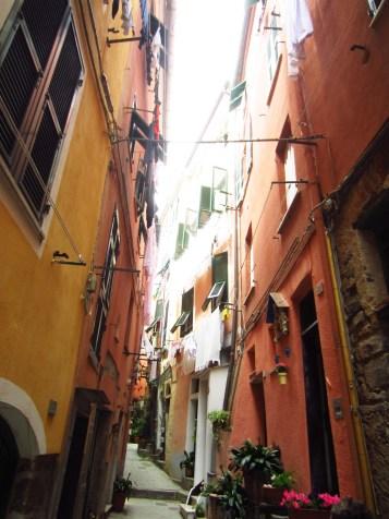Vernazza architecture