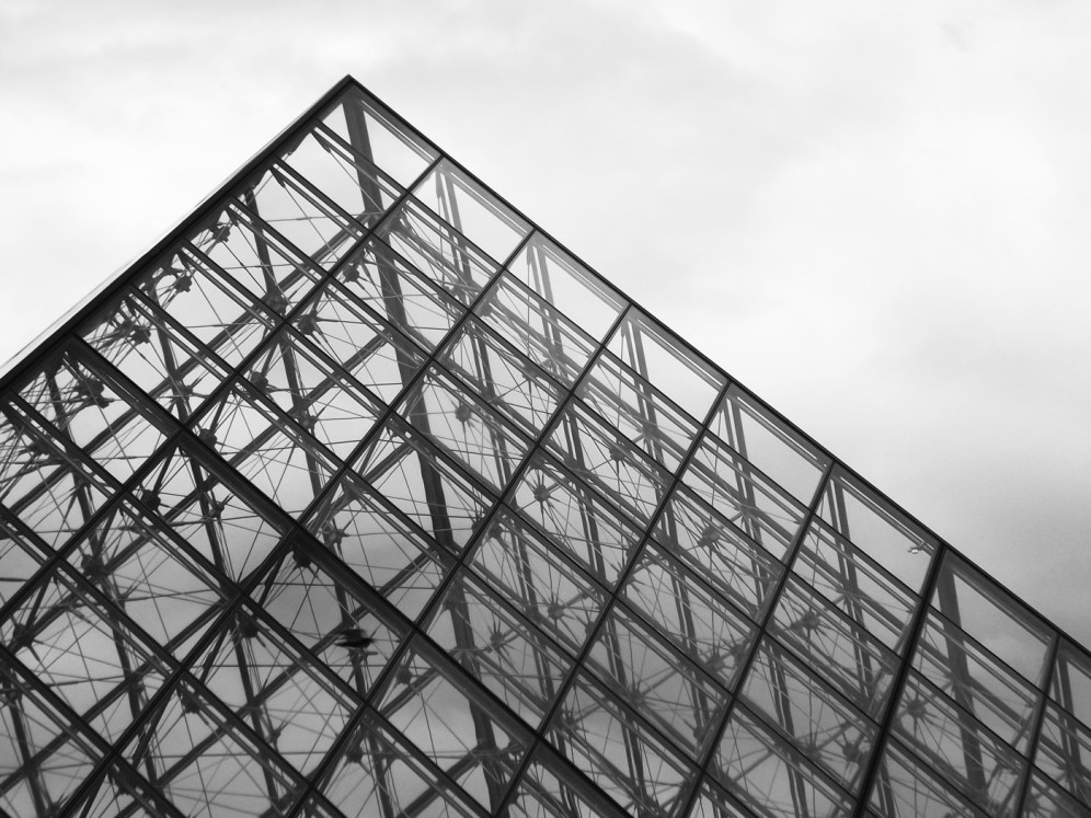 Lines in Paris (Louvre, of course)