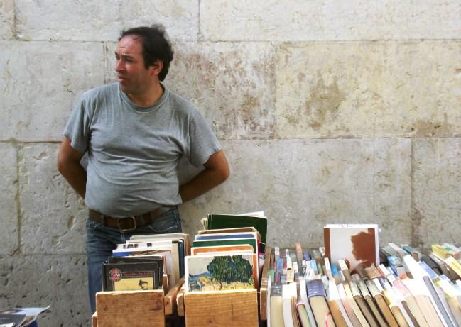 Book fair in Chiado - Lisbon
