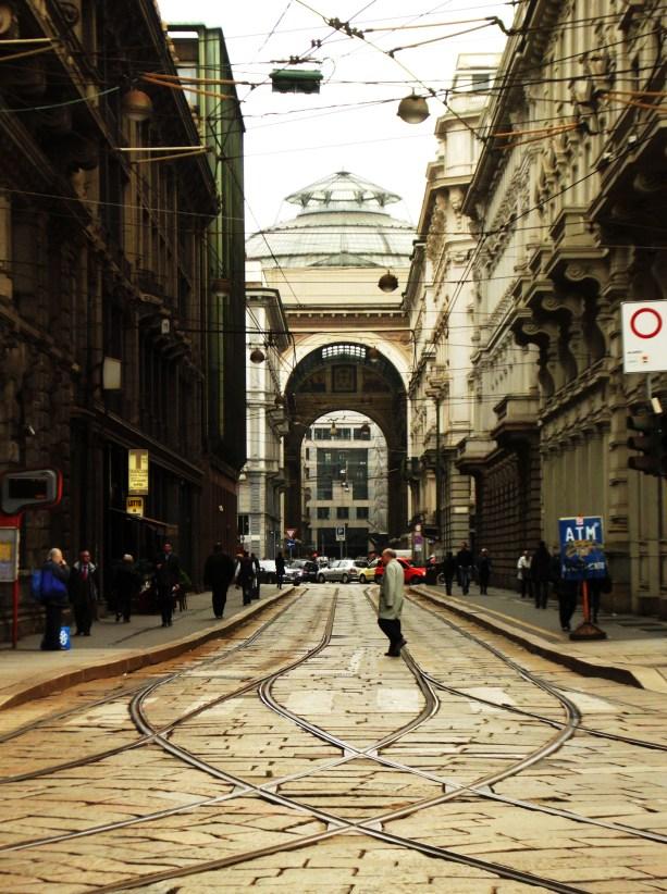 Way to Galleria Vittorio Emanuele