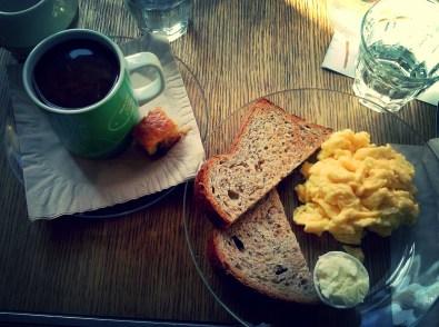 Non conventional Italian breakfast - California Bakery