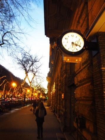 Budapest on Christmas time