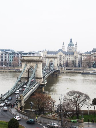 Te bridge and the Danube