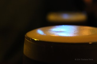 The beauty: Guinness foam - St. Patrick's Holiday 2014