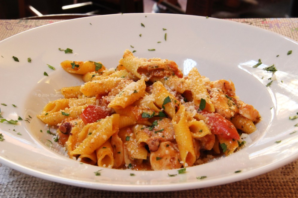 One day in Rome (Pasta: octopus, cherry tomatoes and pecorino romano Garganelli) - Photography 30