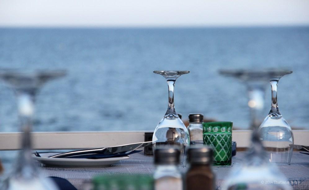 Santorini Series (Gallery 6): Kamari Beach and its straw umbrellas (12)
