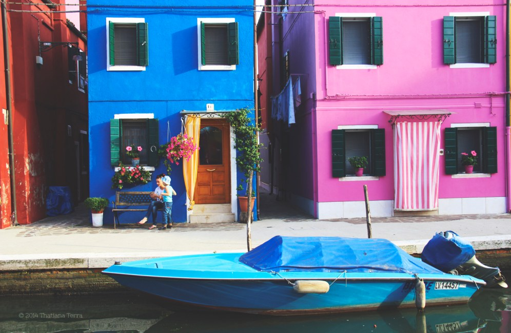 Burano: Blues, yellows and pinks (3)