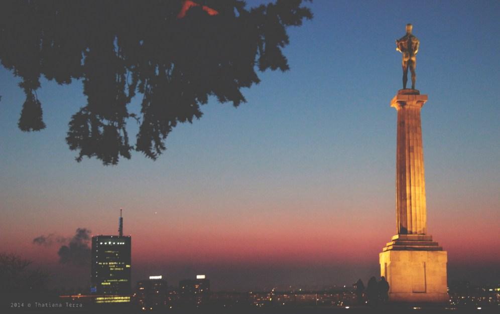 Belgrade: Sunset and friends (6)