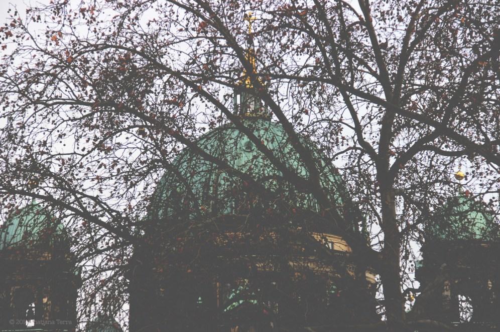 Berlin: Behind trees and leaves (3)