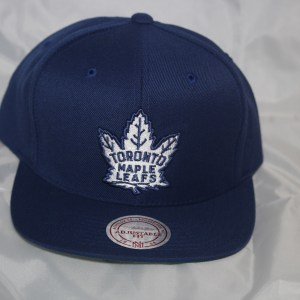 Toronto Maple Leafs NHL Team Solid Mitchell and Ness Snapback