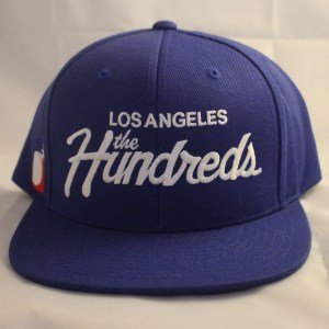 The Hundreds Forever Team Snapback Blue Los Angeles