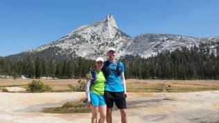 Cathedral peak with Amy