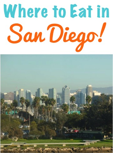 Where to Eat in San Diego California
