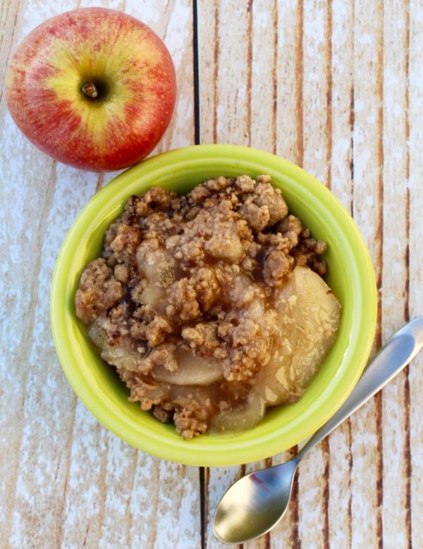 Best Apple Spice Dump Cake Recipe from NeverEndingJourneys.com