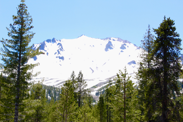 Lassen Volcanic National Travel Guide Mount Lassen Snow